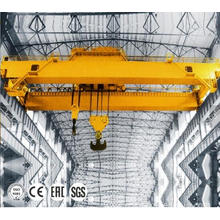 China for Double Girder Overhead Crane Electric Remote Control 30 ton Overhead Double Crane supply to France Metropolitan Supplier